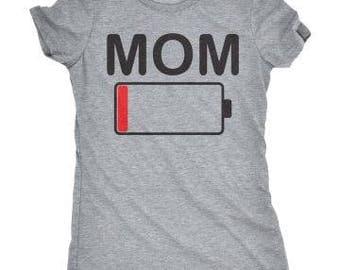 Mom Battery Life Shirt // Mom Life // Battery Life Shirt