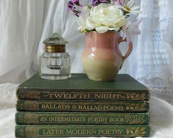 Antique books. Poetry books & Twelfth Night