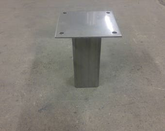 "2"" inch Industrial stainless table leg"