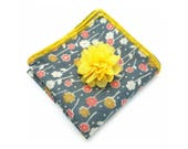 The Parisian Pocket Square and Flower Lapel Pin Gift Set - Mens Fashion Gifts, JW Gifts