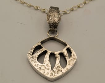 Sold - Available for Special Order - Bear Paw Necklace of Sterling Silver