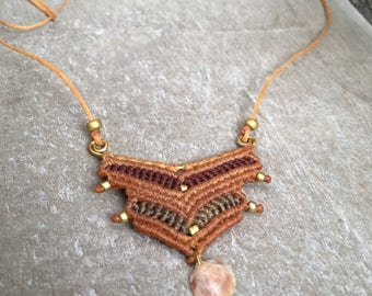 Copper & Shell Necklace