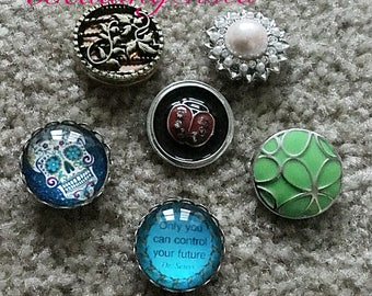 Snap Button - Ginger - Noosa - Large Snaps - Interchangeable Buttons - 1 Piece