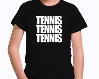 Tennis three words Children T-Shirt