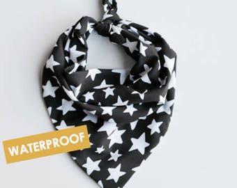 Water-Proof Star Print Dog Bandana