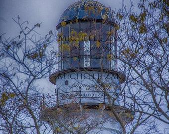 Lighthouse, Maine, Portland Head Light, Casco Bay, Harbor, Rocks, Clouds, Cape Elizabeth,Christmas, Hanukkah, Photo, Photography, Photograph
