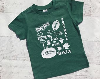 Fall shirt for kids, pumpkin patch shirt, it's fall y'all, boy pumpkin shirt, girl fall shirt, fall shirt, football, corn maze shirt