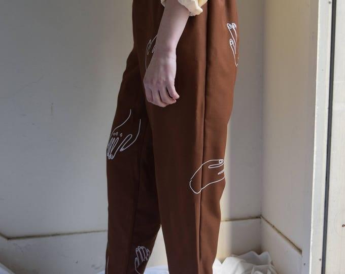 Paloma Camel Wader Pants