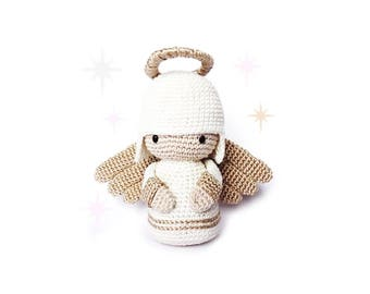 ANGEL Crochet Pattern, Kokeshi Doll