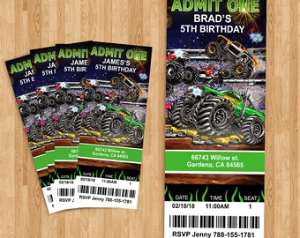 Monster Truck Ticket!