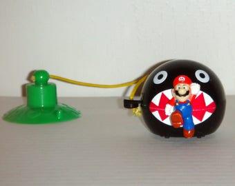 Nintendo Super Mario & Chain Chomp Wendy's Fast Food Toy