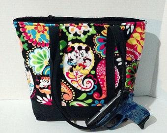 Sale! Concealed Carry Purse Tote Handmade