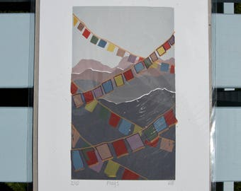 Prayer Flag Print 'Flags'