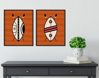 Maasai Shields Printable Posters, Wall Art