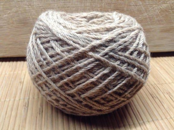 GRENDEL Gotland/Alpaca blend yarn 100g balls Aran ply taupe S17