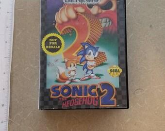Sonic 2 Sega Genesis In Box