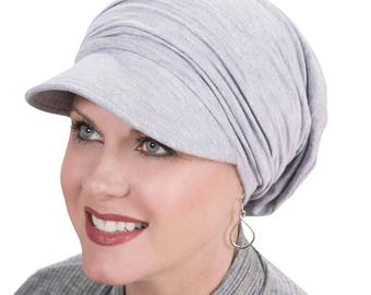 Cardani Bamboo Slouchy Newsboy Hat | Slouch Caps for Women