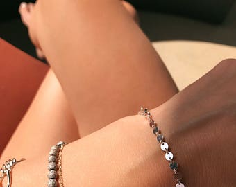 Sterling Casino Bracelet