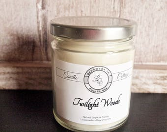 Natural Organic Soy Candle- Twilight Woods- Vegan Candles- Signature Colection- Gift Ideas- Valentine day Gifts- Eco-Friendly