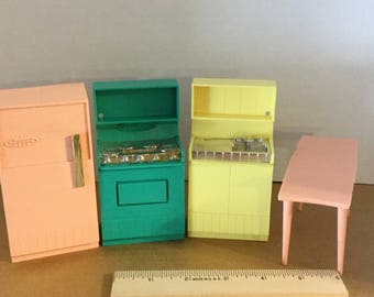 Dollhouse furniture kitchen appliances