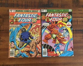 1980 Fantastic Four #215 and #217 Comic Books/ VG-GD/ Blastaar/ Marvel/ Choose One or Both for a Discounted Price!!!