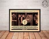 Mumford & Sons Poster - Quote Retro Music Poster - Music Print, Wall Art