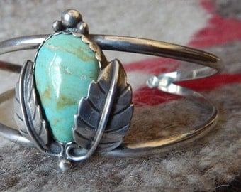 Green turquoise, SOUTHWESTERN JEWELRY, old pawn, tribal, turquoise bracelet,  southwest, estate jewelry, sterling turquoise, jewelry Texas