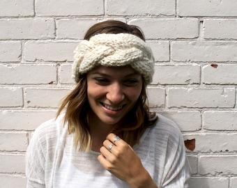 Braided Cable Knit Headband | Crown Winter Headband