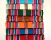 SALE 15% OFF* Premium Genuine Aguayo Bolivian Peruvian fabric 49''x49'' (125x125 cm.) Tribal Ethnic Stripy woven textile, blanket