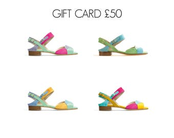 Leather Shoes~Gift Voucher 50 Pounds~Can be used on any of our Shoes.
