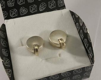 Designer earrings Silver 925 rare SO272