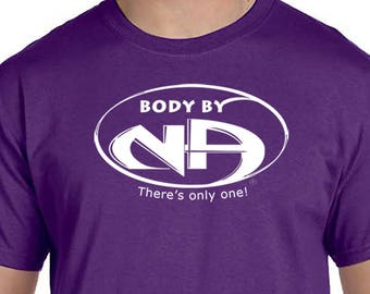 NA - BODY By NA - T-shirt - Color Options - S-3X - 100% cotton - Free Shipping - Narcotics Anonymous