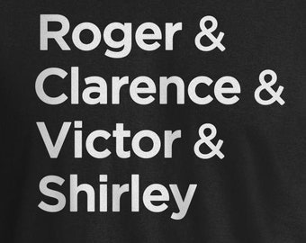 Airplane Movie Shirt, Roger, Clarence, Victor, Shirley, Airplane Movie, Airplane Movie Quote Shirt, Airplane Funny Movie Quotes, Airplane