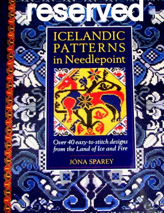 Needlepoint Books Quot Icelandic Patterns In Needlepoint