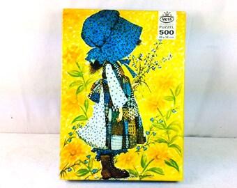 Holly Hobbie Puzzle - Vintage Puzzles - Jigsaw Puzzle - 500 piece puzzle - complete