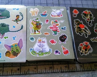 Mini Sticker Sheets