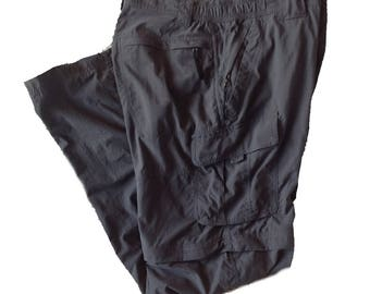 32 x 34 Columbia Omni-dry Nylon Convertible Hiking Pants for Men