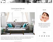 Blogger Template, Blogger Theme, Template Responsive, Minimal, Simple, Grid, Slider, Design, Blogspot - LIVE DEMO: www.bit.ly/AmabelTheme