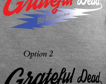 Grateful Dead We Will Survive Sport Logo