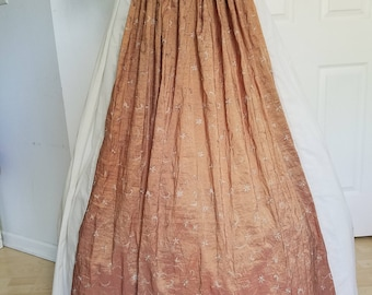 Lady's Dirndle Panelled Skirt