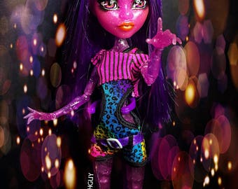 The RARE Blob girl custom