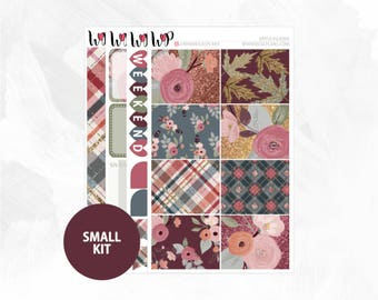 Apple Picking Small Kit | Matte Glossy Planner Stickers