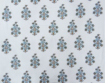 """Ethnic Fabric, White Fabric, Sewing Decor, Dress Fabric, Home Accessories, 44"""" Inch Cotton Fabric By The Yard ZBC8876A"""