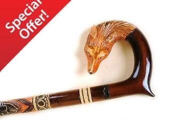 SALE 30% Walking stick , Walking cane , Cane , hiking stick , hand carved , wood walking stick , walking stick cane