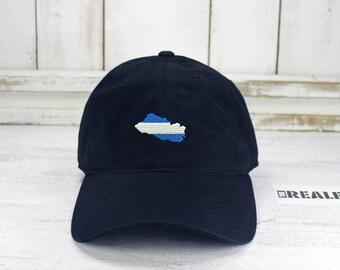 El Salvador Embroidered Dad Hat Baseball Hat Curved Bill Salvadorean Peeps