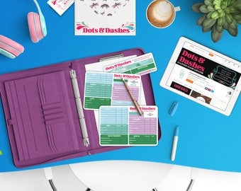 Notes section budget kit, planner sticker budget kit, financial stickers, Tropical Escape, NS06