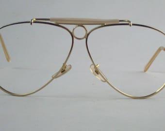 2e572611f5 coupon ray ban shooter 3138 frame no marked vintage 60s eyeglasses  sunglasses frame d8e75 233ad