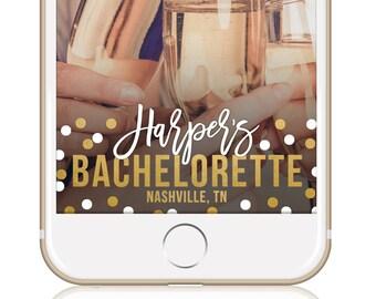 Bachelorette Snapchat Filter Bachelorette Geofilter Snapchat Geofilter Custom Geofilter CONFETTI BACHELORETTE FILTER