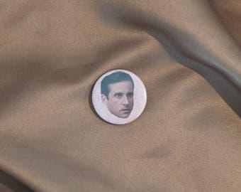 """Steve Carell 1"""" Button"""