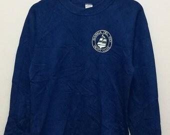 YACHT CLUB MARINA Del Ray Street Wear Streetwear Promo Designer Big Logo Crewneck Sportswear Pullover Jumper Sweatshirts